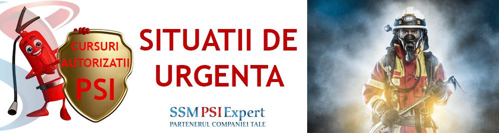 Situatii de Urgenta - SU - PSI